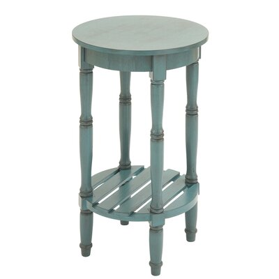 Urban Designs Seaside End Table Finish: Blue