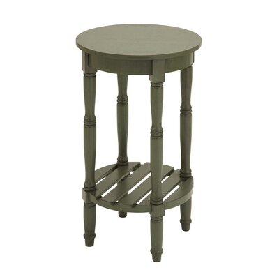 Urban Designs Seaside End Table Color: Green