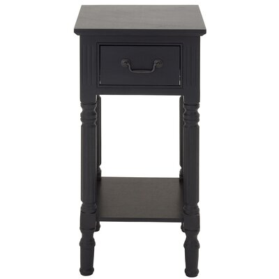 Urban Designs Lena End Table Finish: Charcoal