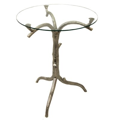Urban Designs Tree Trunk End Table