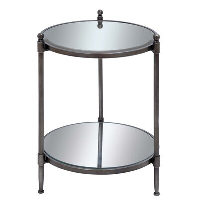 Urban Designs End Table with Shelf
