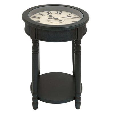 Urban Designs End Table Color: Dark Teal