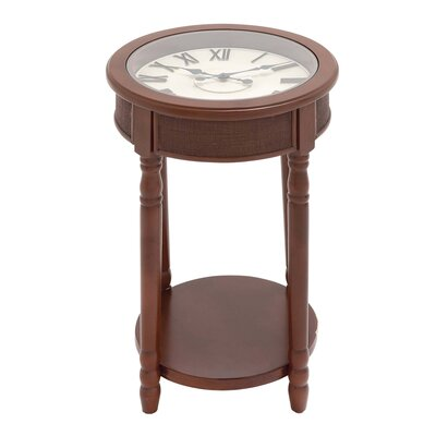 Urban Designs End Table Color: Brown