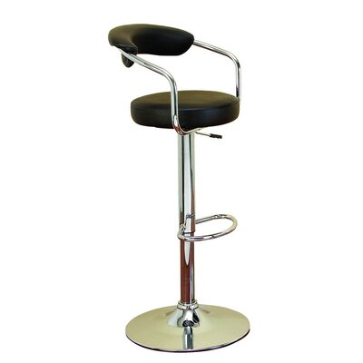 Uptown Adjustable Height Swivel Bar Stool