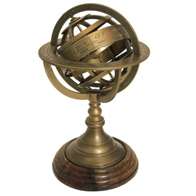 Urban Designs Armillary Sphere World Globe Table and Studio Decor