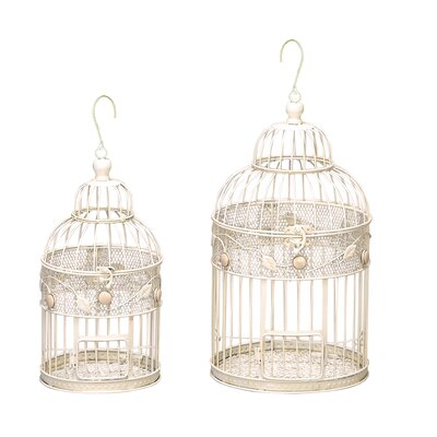 Urban Designs 2 Piece Bird Cage Set