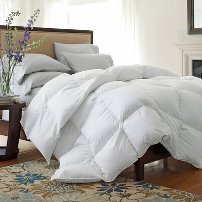 233 Thread Count Lightweight Down Comforter Size: Queen