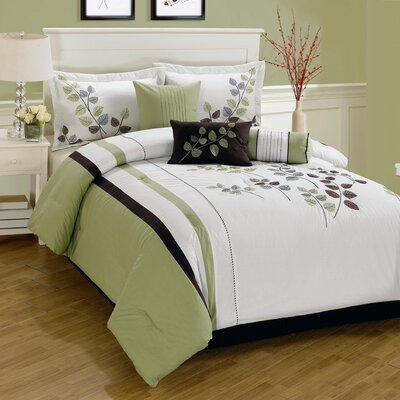 Gilmore 7 Piece Comforter Set Size: King