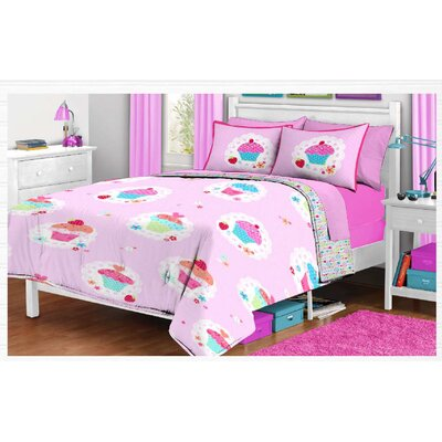 Cherry Tart 2 Piece Twin Comforter Set