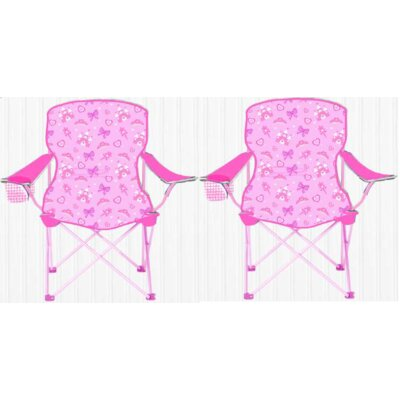 Kids Camping Chair K659521-Pinkpair