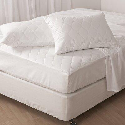 Classique White Mattress Pad Size: Twin