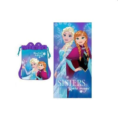 Disney Frozen 2 Piece Beach Towel Set