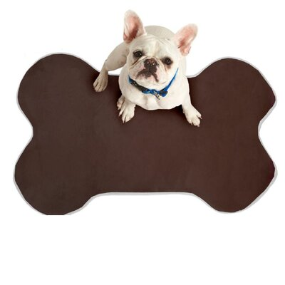Memory Foam Dog Mat Color: Grey, Size: 29 W x 20 D