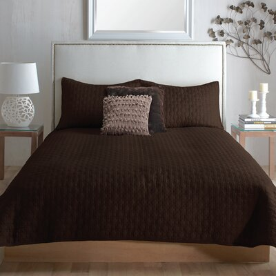 Farris 3 Piece Coverlet Set Size: King