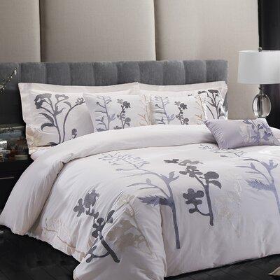 Sandra Venditti Edita 6 Piece Comforter Set Size: King