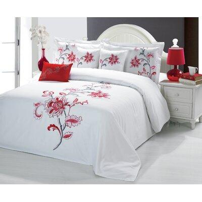 Sandra Venditti Bella 6 Piece Comforter Set Size: Queen