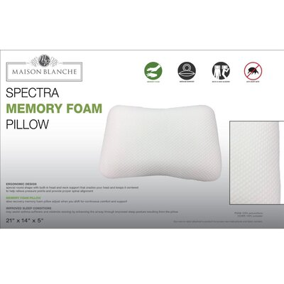 Spectra Memory Foam Pillow