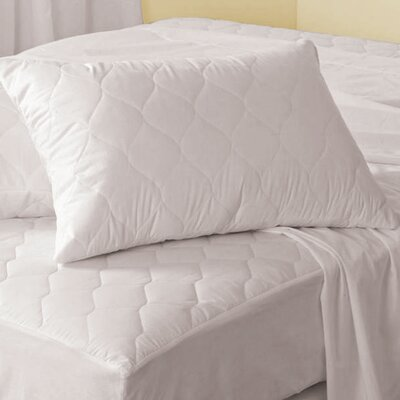 Antibacterial Polyester Mattress Pad Size: Queen