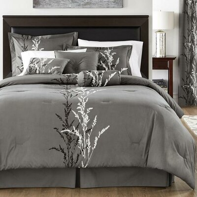 Ferron 100% Cotton Reversible Comforter Set Size: King
