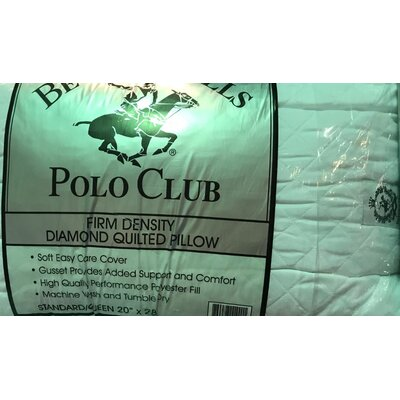Polo Club Fiber Standard Pillow