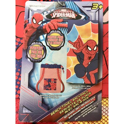 Spider-Man 2 Piece Beach Towel Set IK201092_spiderman_Towel