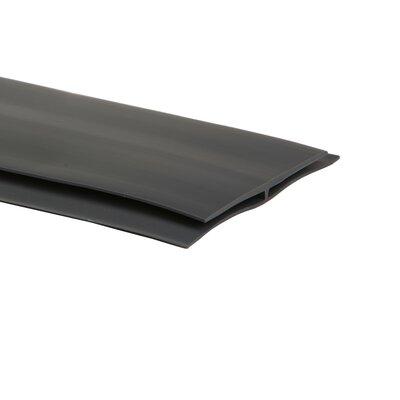 0.25 x 4 x 300 T-Molding in Slate Gray
