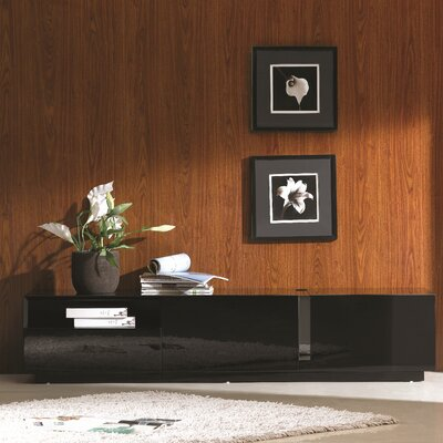 Weatherholt 71 TV Stand Color: Black