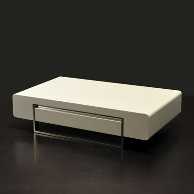 Maisie Modern Coffee Table Color: White