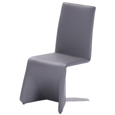 Romane Pharaoh Side Chair (Set of 2) Finish: Grey
