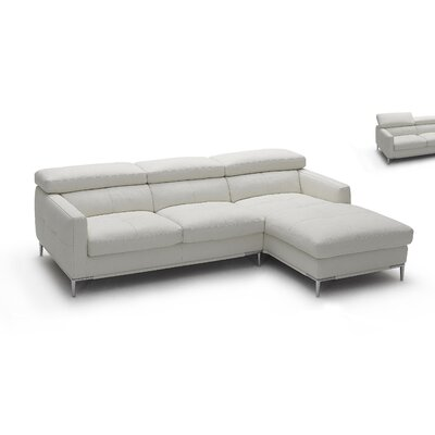 J&M Furniture 1769011-RHFC-W Sectional Upholstery