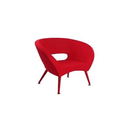 Weatherby Accent Lounge Chair Upholstery: Red