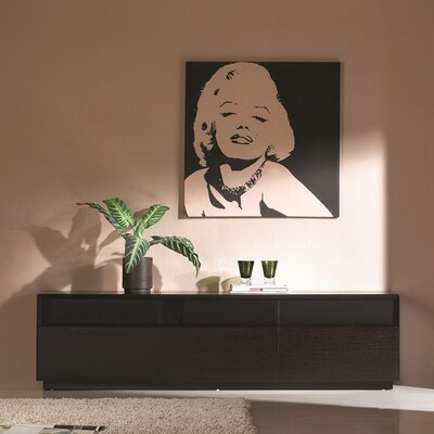 Bellwood 71 TV Stand Color: Dark Oak