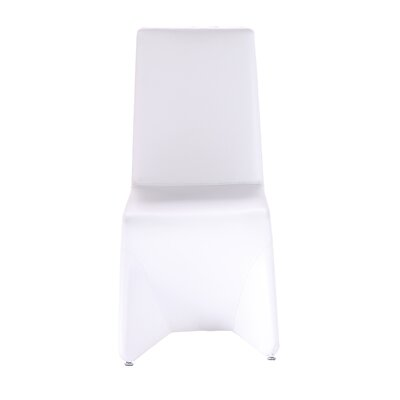 Romane Pharaoh Side Chair (Set of 2) Finish: White