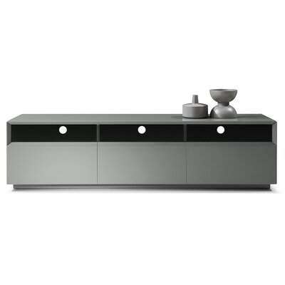 Bellwood 71 TV Stand Color: Grey