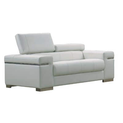 17655111-L-W JMFU1170 J&M Furniture Soho Leather Loveseat