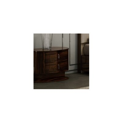 Georgia 2 Drawer Nightstand