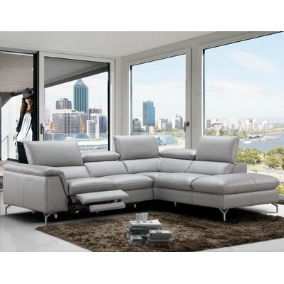 Dupont Reclining Sectional Orientation: Right Hand Facing