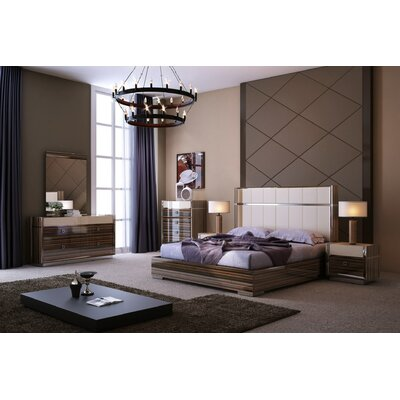 Elena Platform Bed Size: Queen