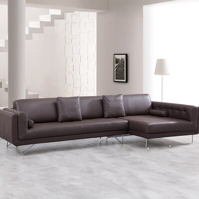 J&M Furniture 19001-RHFC Bruno Sectional Orientation