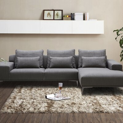 Christian Fabric Sectional Orientation: Right Hand Facing