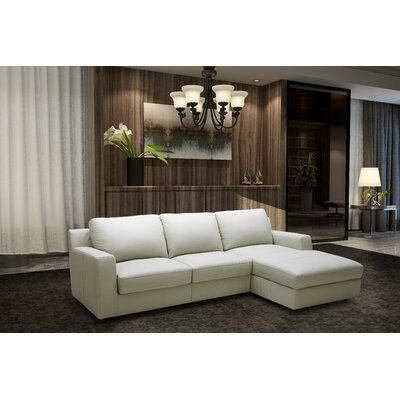 J&M Furniture 18243-RHFC Sleeper Sectional Orientation