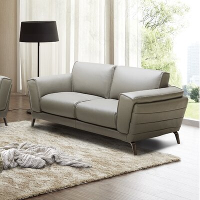 J&M Furniture 18143-L Berlin Premium Leather Loveseat