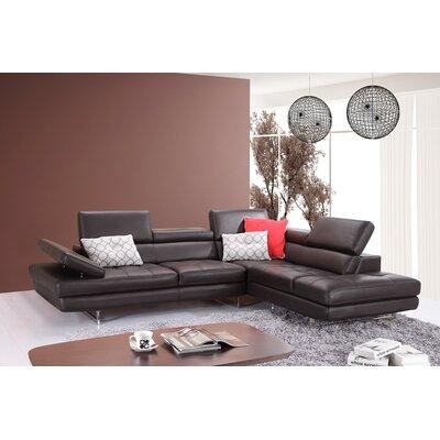 J&M Furniture 18633-RHFC Brisbane Sectional Orientation