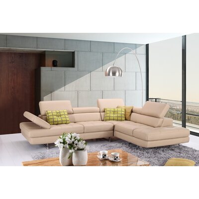 J&M Furniture 18632-RHFC Ancona Sectional Orientation