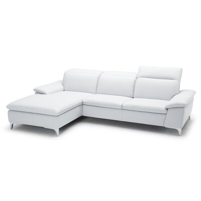 Cleona Reclining Sectional Upholstery: Taupe, Orientation: Left Hand Facing