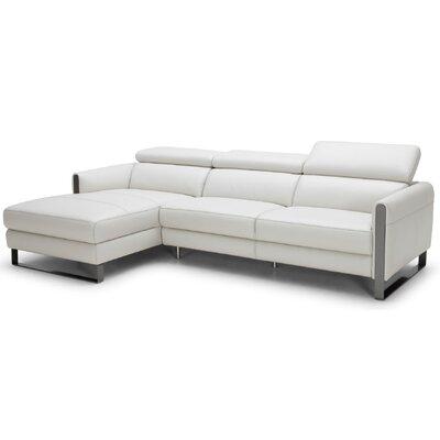 Jessie Premium Reclining Sectional Orientation: Left Facing