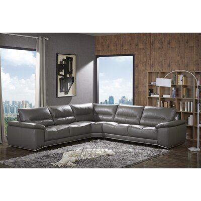 Chau Premium Leather Sectional