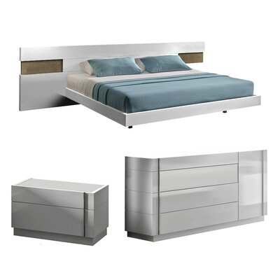 Brackenridge Platform Configurable Bedroom Set