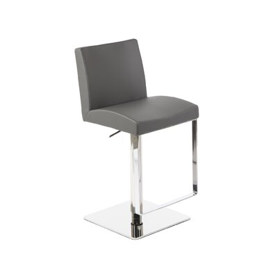 Ascella Modern Adjustable Height Swivel Bar Stool