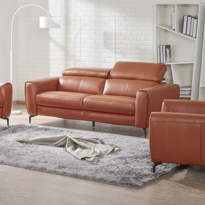 Camptown Genuine Leather Sofa